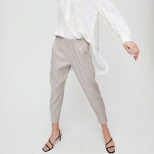 Aritzia Babaton Dexter Linen Pant Size XS